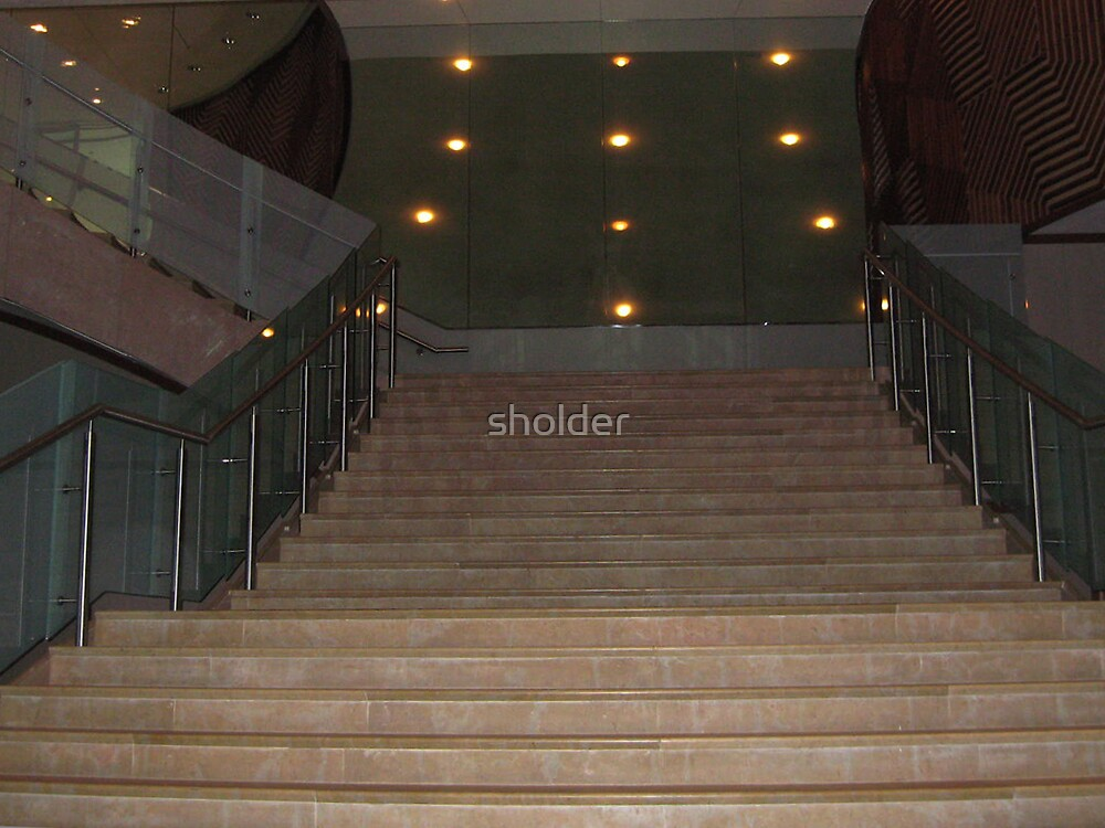 Redo The Stair Beneath the Arch by sholder
