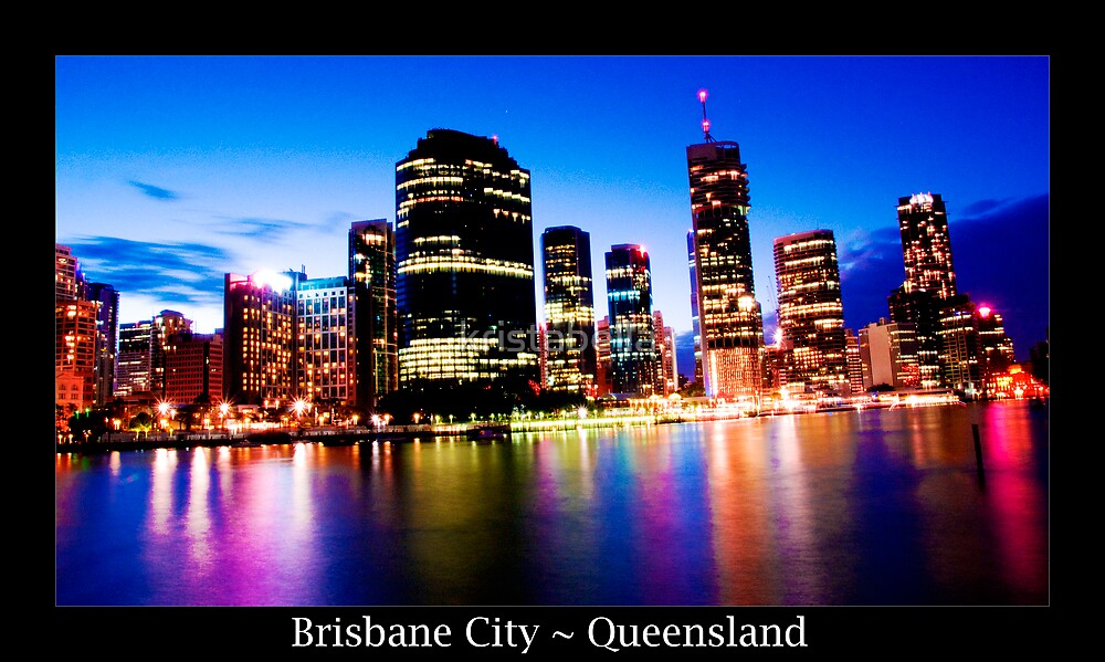 Brisbane by Night by kristabella