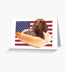 Fourth of July Doggo Greeting Card