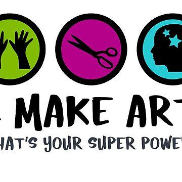 I Make Art. by beckarahn