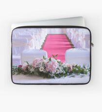 Waiting for the Bride and Groom Laptop Sleeve