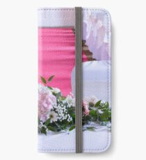 Waiting for the Bride and Groom iPhone Wallet/Case/Skin