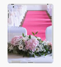 Waiting for the Bride and Groom iPad Case/Skin