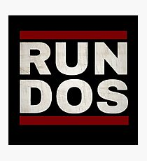 RUN DOS (RUN DMC) Photographic Print