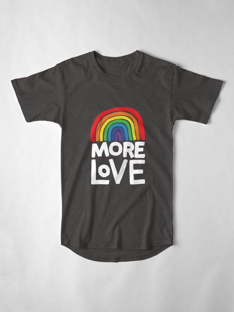 Alternate view of more love Long T-Shirt