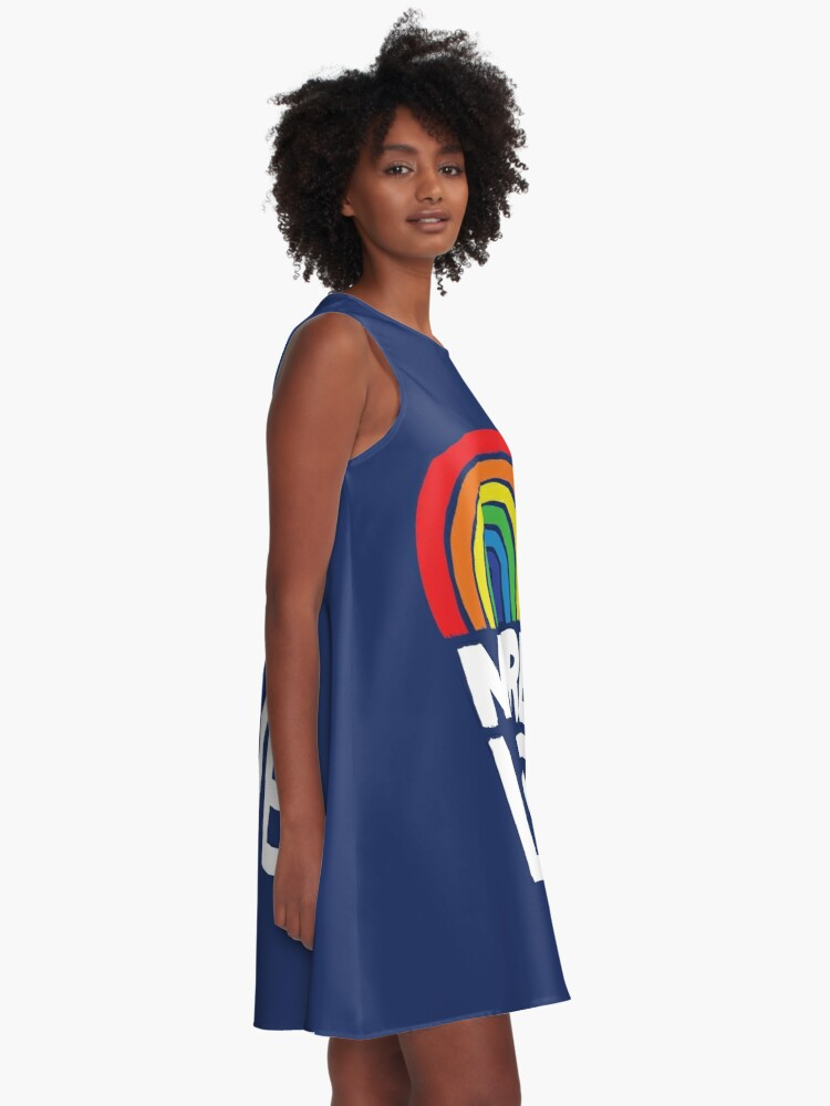 Alternate view of more love A-Line Dress
