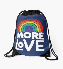 more love Drawstring Bag