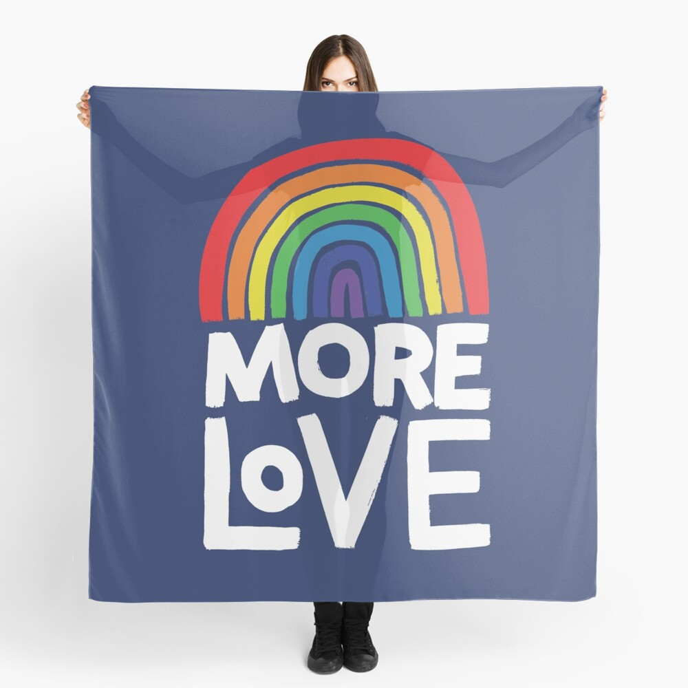 more love Scarf