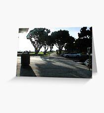Marina Park at Dusk - San Diego, CA  Greeting Card