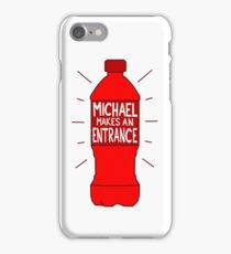 Michael Makes an Entrance iPhone Case/Skin