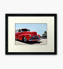 Overland Express Delivery Framed Print