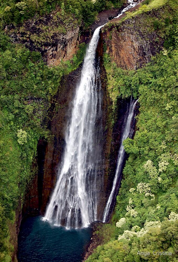 Falls in Kauai by Anya  Cristina