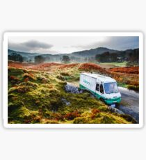 Library Van in the Lake District Sticker