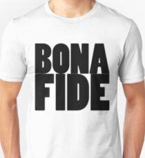 Bona Fide Black  T-Shirt