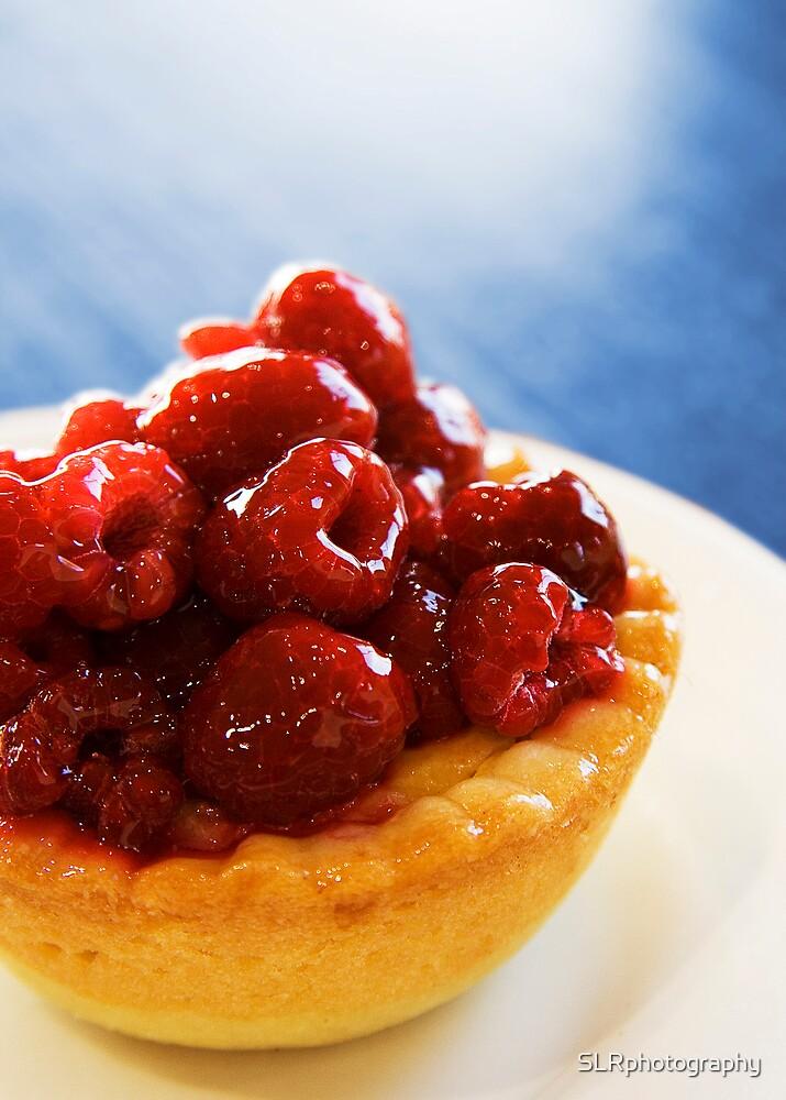 Raspberry Tartlet by SLRphotography