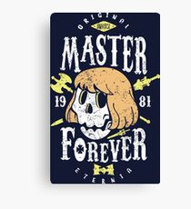 Good Master Forever Canvas Print