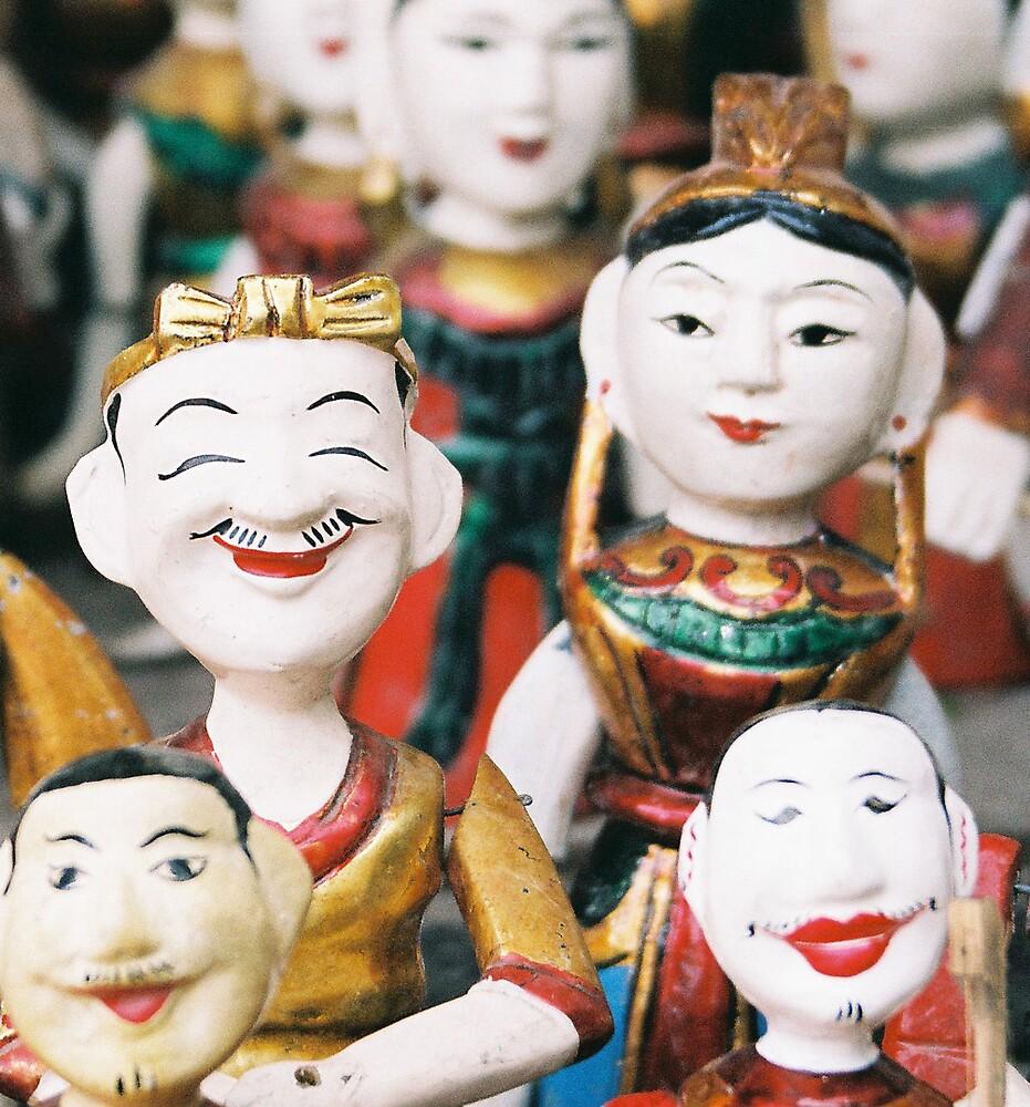 Vietnamese Water puppets by EmReynolds