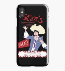 Monkey Island - Stan's coffins iPhone Case