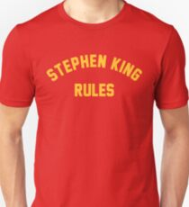 Stephen King Rules T-Shirt