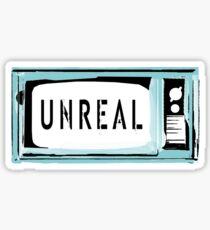 Unreal TV Sticker