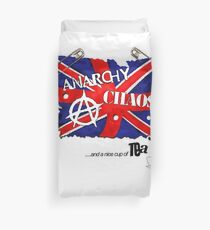 Anarchy, Chaos and Tea Duvet Cover