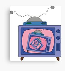 crazy tv simpsons Canvas Print