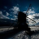 Winter Windmill by Andy Bennette