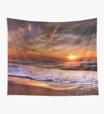 Denmark Sunset  Wall Tapestry