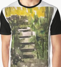 The stair Graphic T-Shirt