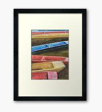 Oxford Sport Framed Print