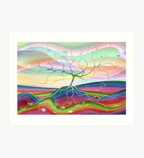 Tree of life artwork Art Print