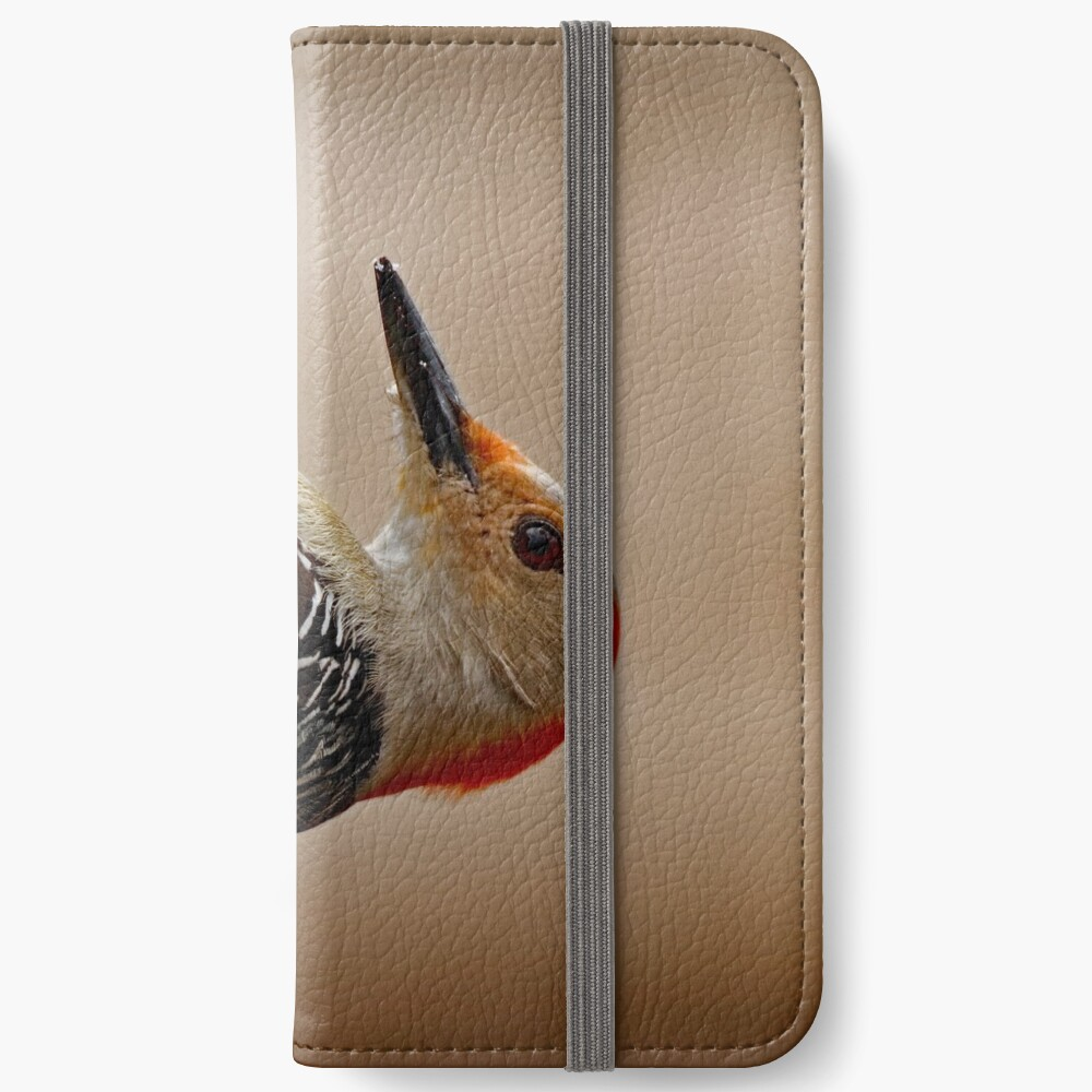 Red-Bellied Woodpecker on a Feeder iPhone Wallet