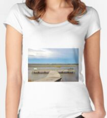 Come And Share The View Women's Fitted Scoop T-Shirt