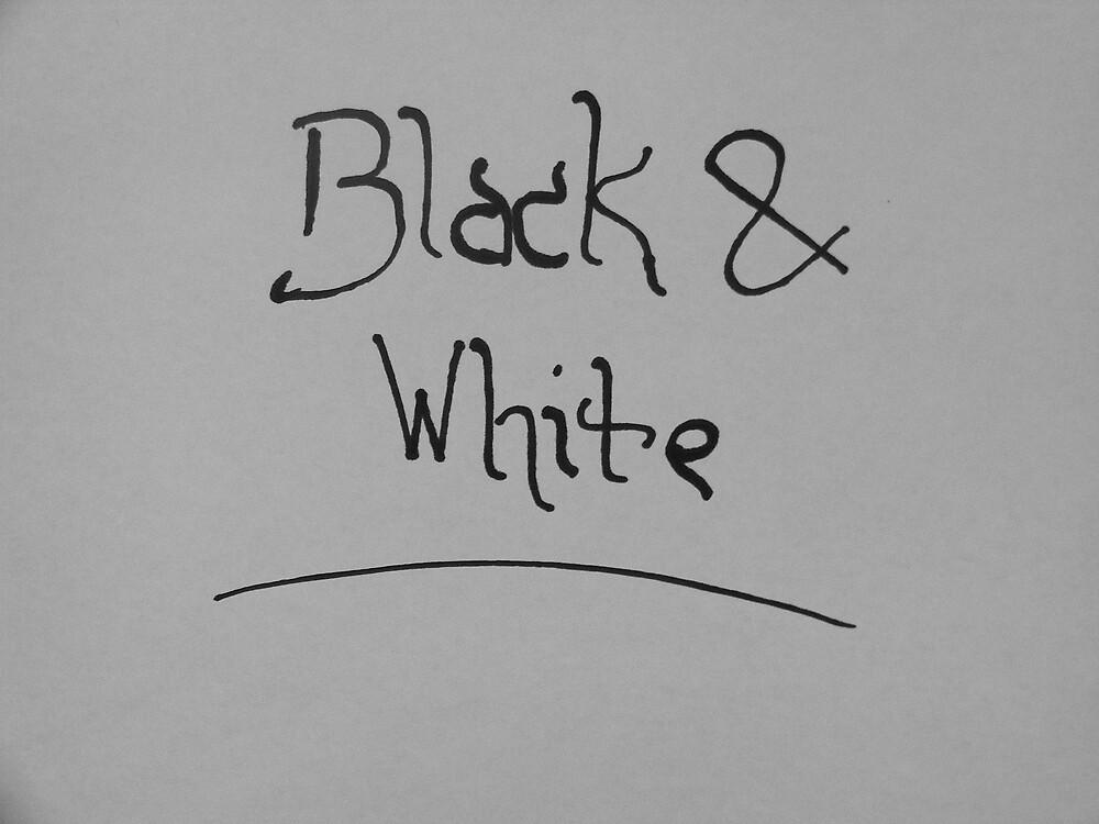 Black & White by jbrinx27