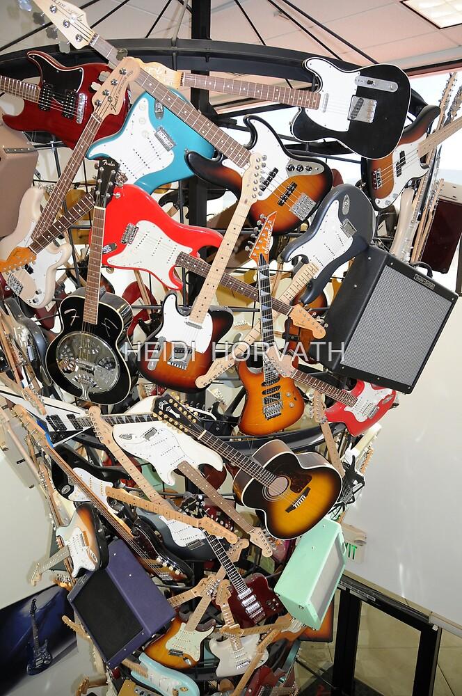 Jackson Guitars... by HEIDI  HORVATH
