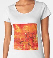 Dendritic Echoes Premium Scoop T-Shirt