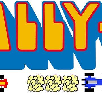 Rally X Logo by 8BitClassics