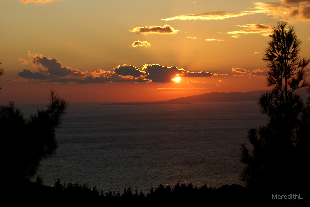 Sunset from Gallipoli by MeredithL