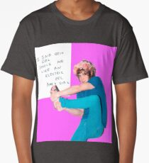 silly weird andrew vanwyngarden Long T-Shirt