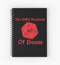 Cuaderno de espiral Cuaderno de la fatalidad de DM