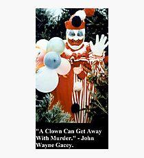 Pogo The Clown Photographic Print