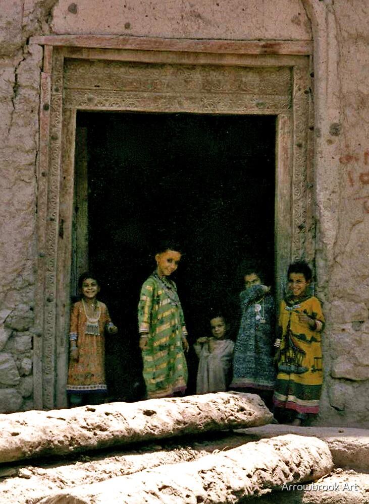 Omani Children by John Brotheridge