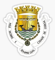 Lisbon coat of arms Sticker