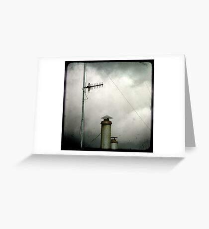 Aerials & Chimneys Greeting Card