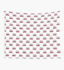 camera seamless doodle pattern Wall Tapestry