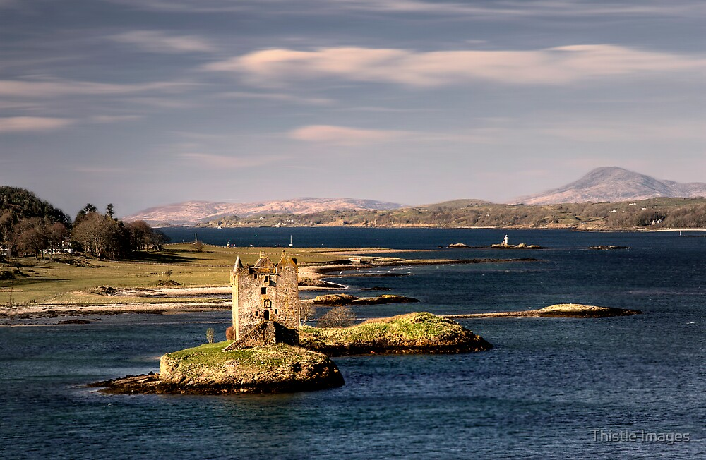 Castle View by Thistle Images