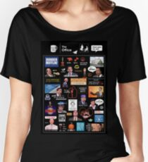 The Office US Montage Women's Relaxed Fit T-Shirt