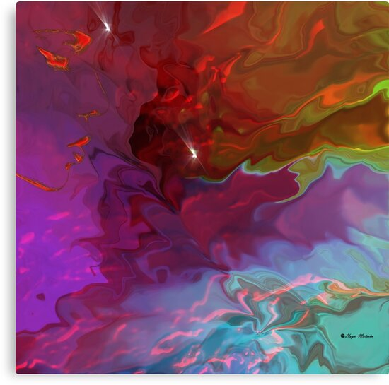 Deep Thoughts - Abstract  Art + Products Design  by haya1812