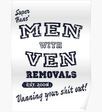 Peep Show – Men With Ven Poster