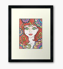 freckle Fairy Framed Print